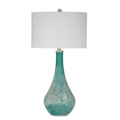 Bassett Mirror Company Maggiore Table Lamp in Sea Blue