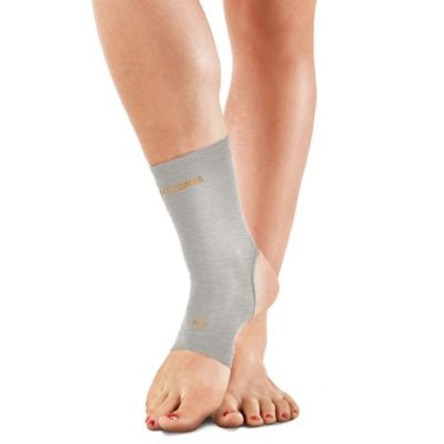 Tommie Copper Women's Small Compression Ankle Sleeve in Silver