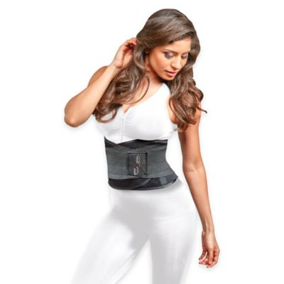 Genie Hour Glass™ Large/Extra-Large Waist Training Belt in Black