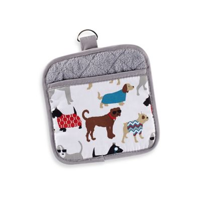 Sam Hedaya Dog Couture Pot Holder