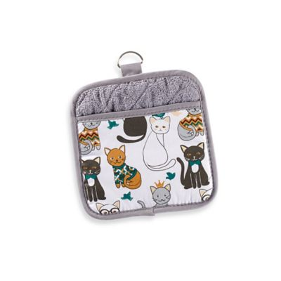 Sam Hedaya Cat Couture Pot Holder