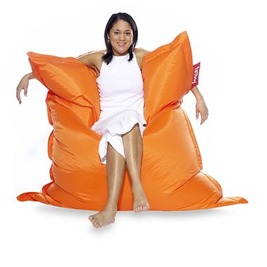 Orange Fatboy Floor Cushion