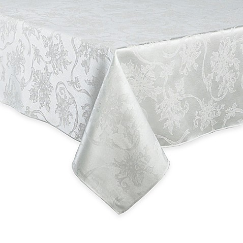 Buy Christmas Ribbons 60-Inch x 84-Inch Oblong Tablecloth ...