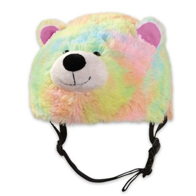 Pillow Pets® Tricksters Medium Rainbow Bear Helmet