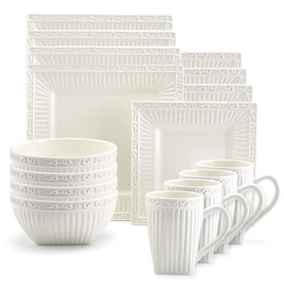 Mikasa® Italian Countryside Square 20-Piece Dinnerware Set