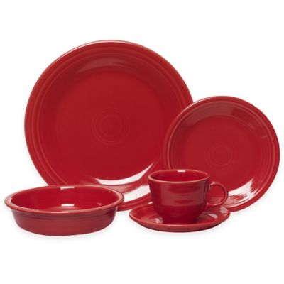 5-Piece Place Setting in Scarlet