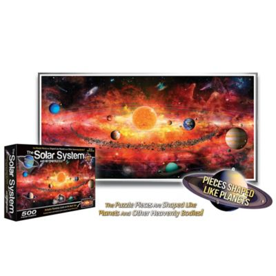 500-Piece Solar System and Beyond Puzzle