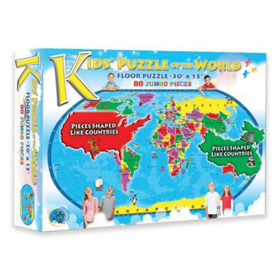 Broader View® Kids Puzzle of the World
