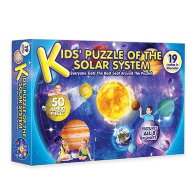 A Broader View® Kids Puzzle of the Solar System