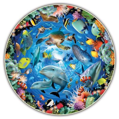 Ocean 360 by Howard Robinson Round Table Puzzle