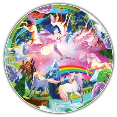 A Broader View® Kids Round Table Unicorn Bliss Puzzle
