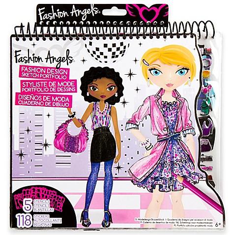 Buy Fashion Angels Fashion Design Sketch Portfolio From