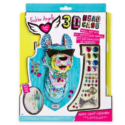 Fashion Angels® 3D Bow Wower Head Case Wall Art Kit