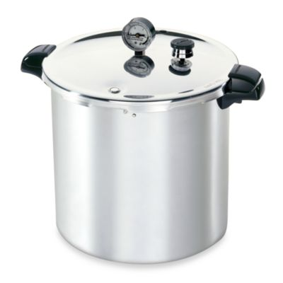 Presto Aluminum 23-Quart Pressure Canner and Cooker