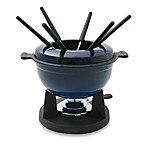 Swissmar® Lucerne 10-Piece Blue Meat Fondue Set