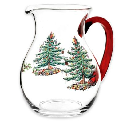 Spode® Christmas Tree Glass Pitcher