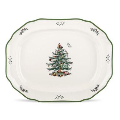 Spode® Christmas Tree 19-Inch Sculpted Platter