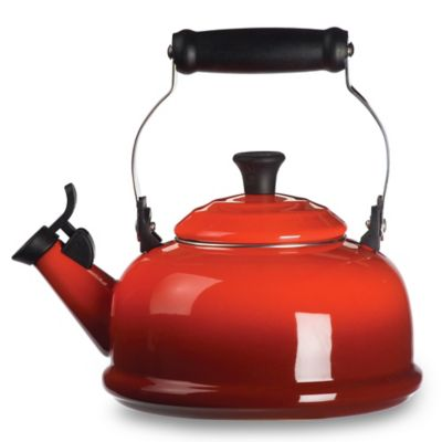 Le Creuset® 1.8-Quart Whistling Tea Kettle in Red