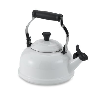 Le Creuset® 1.8-Quart Whistling Tea Kettle in White