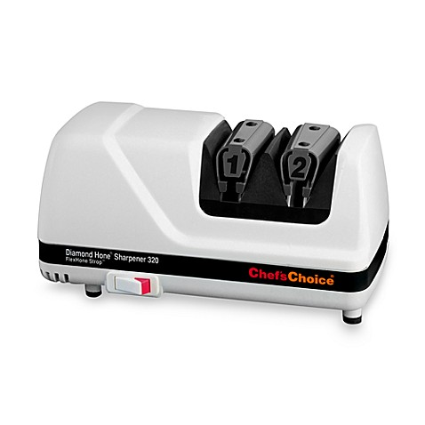 Chef'sChoice® Diamond Hone® Professional White Electric Knife Sharpener