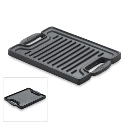 Emerilware Cast Iron Single Burner Reversible Grill/Griddle