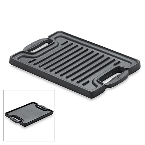 Emerilware® Cast Iron Single Burner Reversible Grill/Griddle