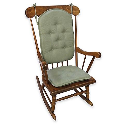 Klear Vu Saturn 2 Piece Rocking Chair Pad Set Www