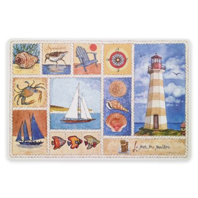 Avanti Lake Collage 12-Inch x 18-Inch Laminated Placemat