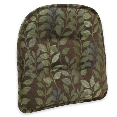 Klear Vu Delightfill® Gripper® Dora Chair Pad in Chocolate