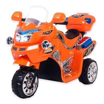 Lil' Rider FX 3-Wheel Battery-Powered Bike in Orange