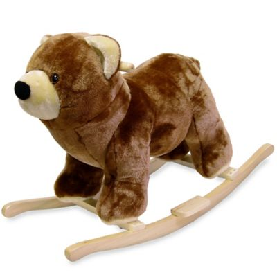 Happy Trails Plush Rocking Bear - from Trademark Games
