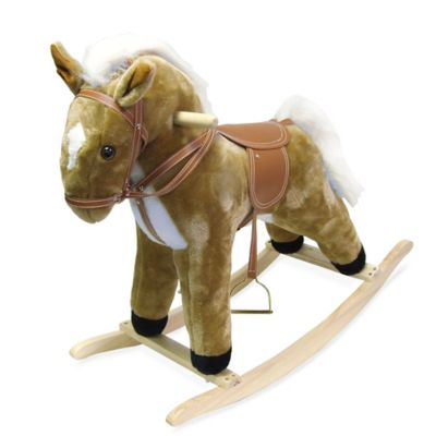 Happy Trails Plush Rocking Horse - from Trademark Games
