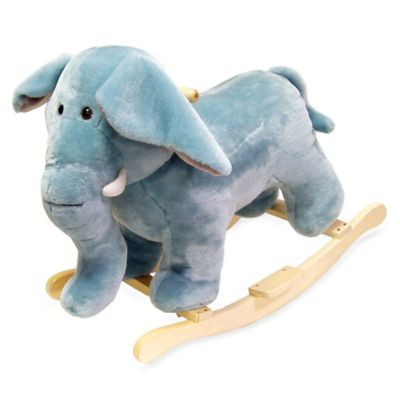 Happy Trails Plush Rocking Elephant - from Trademark Games