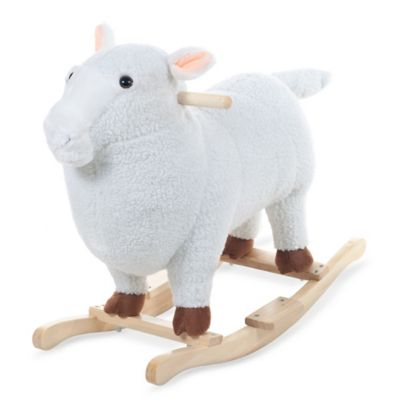 Happy Trails Plush Rocking Lamb - from Trademark Games