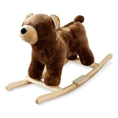 Happy Trails Plush Rocking Barry Bear with sounds - from Trademark Games