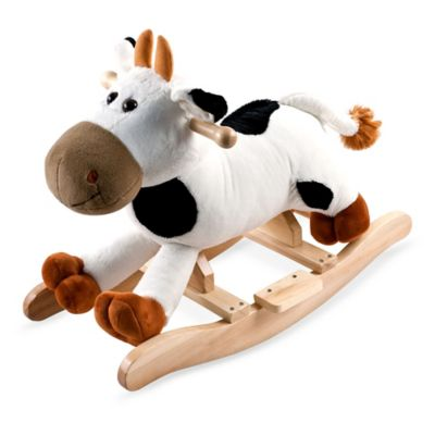 Happy Trails Plush Rocking Connie Cow with Sounds - from Trademark Games