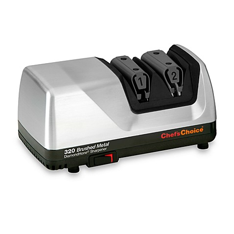 Chef'sChoice® Diamond Hone® Professional Brushed Metal Electric Knife Sharpener