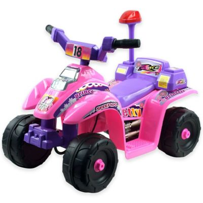 Lil' Rider Princess 4-Wheel Mini ATV in Pink/Purple