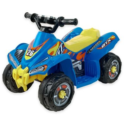 Lil' Rider Blue Bandit GT Sport Battery-Operated ATV