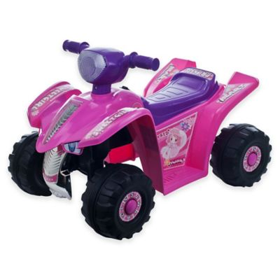 Pink Purple Ride-On Car