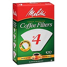 Melitta® 100-Count No. 4 Coffee Filters