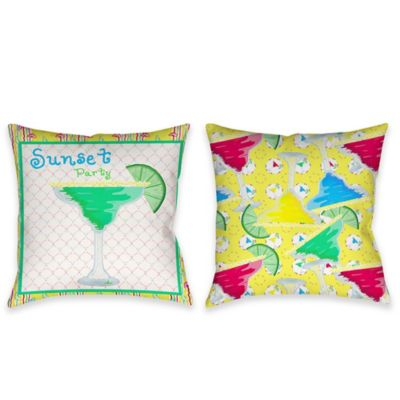 Margarita Indoor/Outdoor Throw Pillow in Multi