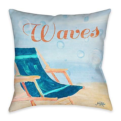Outdoor Beach Throw Pillows : Buy Beach Play III Indoor/Outdoor Throw Pillow from Bed Bath & Beyond