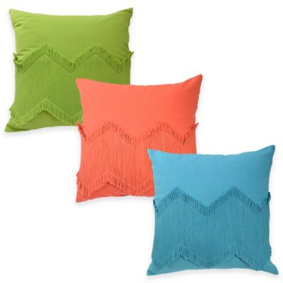 Blissliving Home® Puebla Throw Pillow in Teal