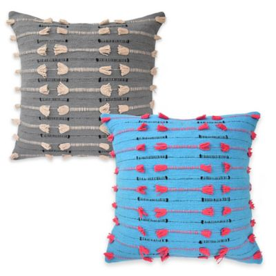 Blissliving Home® Vivido Throw Pillow in Blue