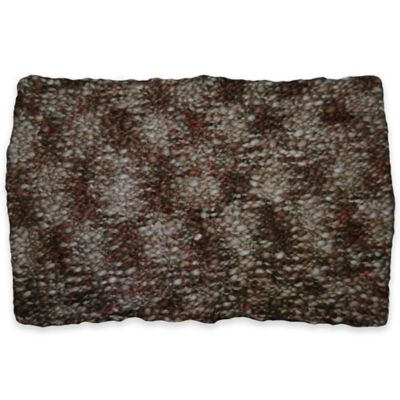 Iceland Oblong Throw Pillow in Brown