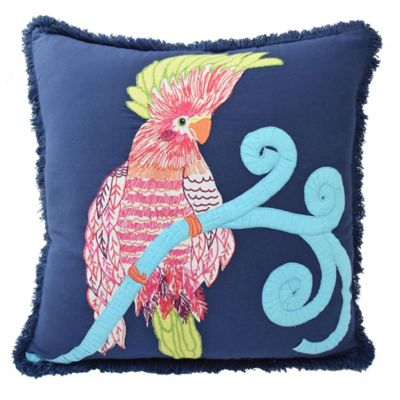 Blissliving® Home Pajaro Throw Pillow in Navy