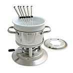 Swissmar® Arosa 11-Piece Stainless Steel Fondue Set