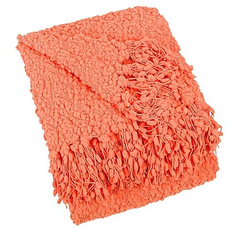 Buy Blissliving Home 174 Temi Throw Blanket In Tangerine From