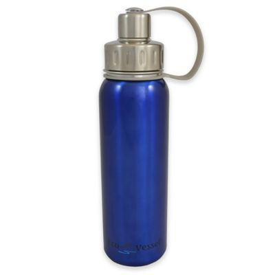 Eco Vessel® BOLD 25 oz. Stainless Steel Water Bottle in Blue